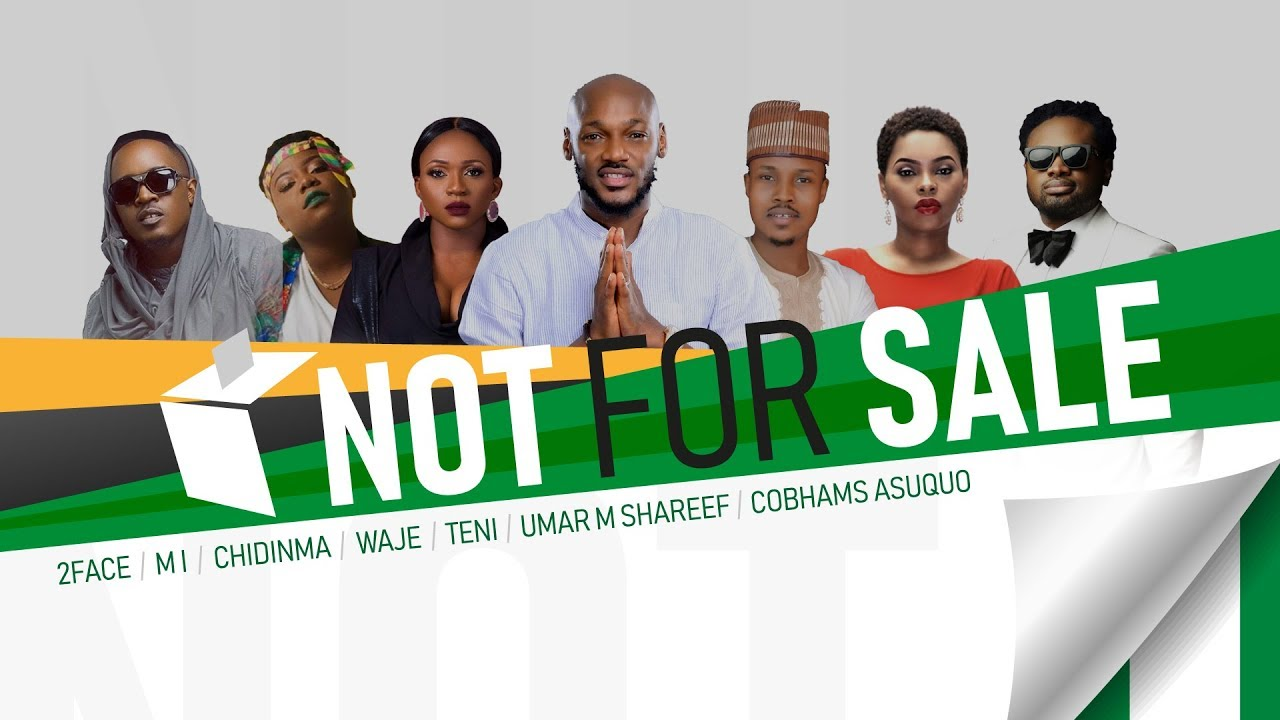 2Baba, Teni, M.I Abaga and More Campaign Against Vote Buying On New Single