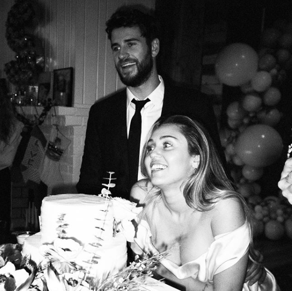 Here Are Never-seen-before Photos From Miley Cyrus' and Liam Hemsworth's Secret Wedding