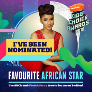 Davido, Adesua Etomi And IK Osakioduwa Bag Nominations At Nickelodeon Kid's Choice Awards 2019