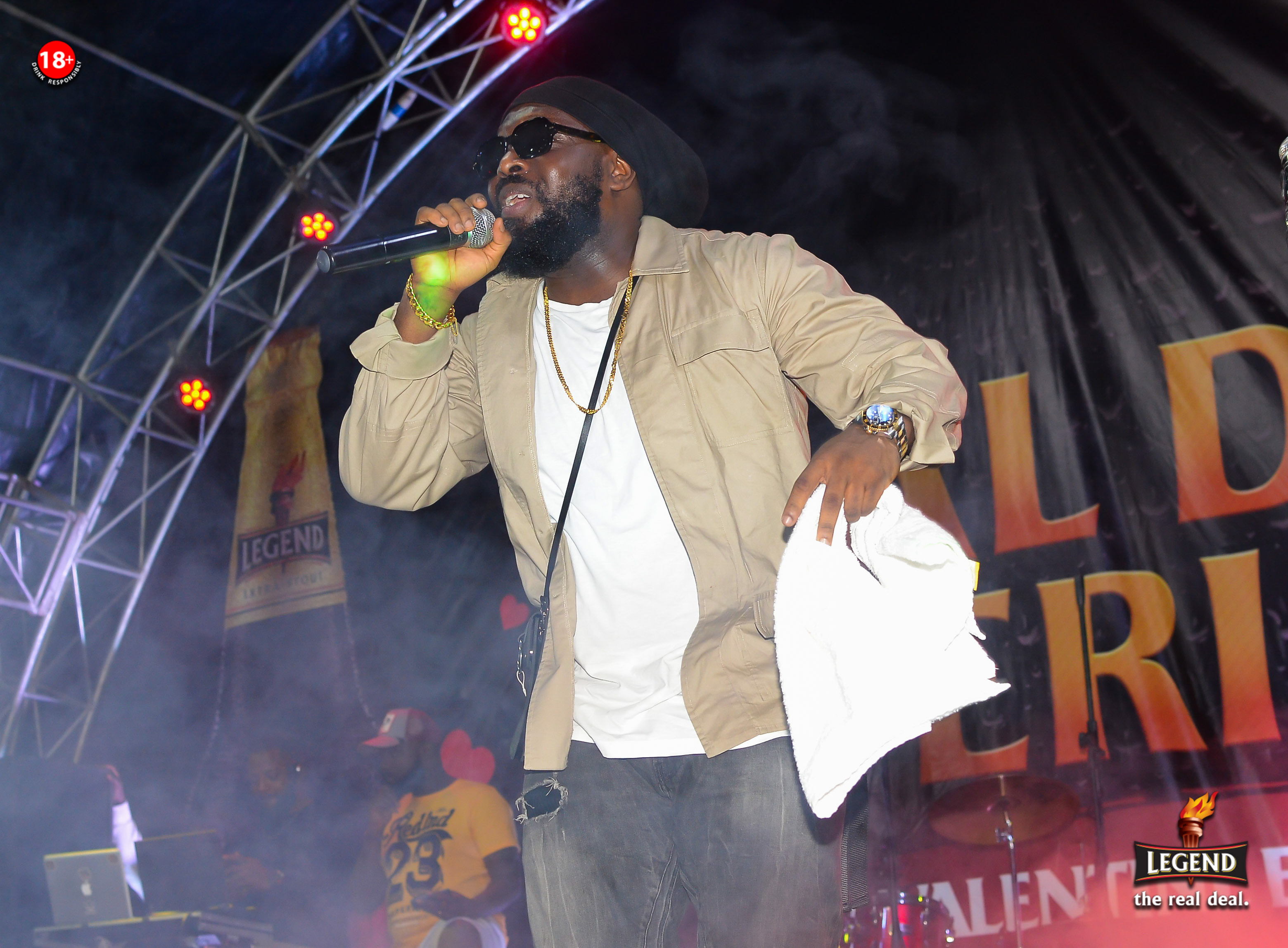 Timaya Thrills Fans At Legend's Real Deal Experience Concert In Enugu