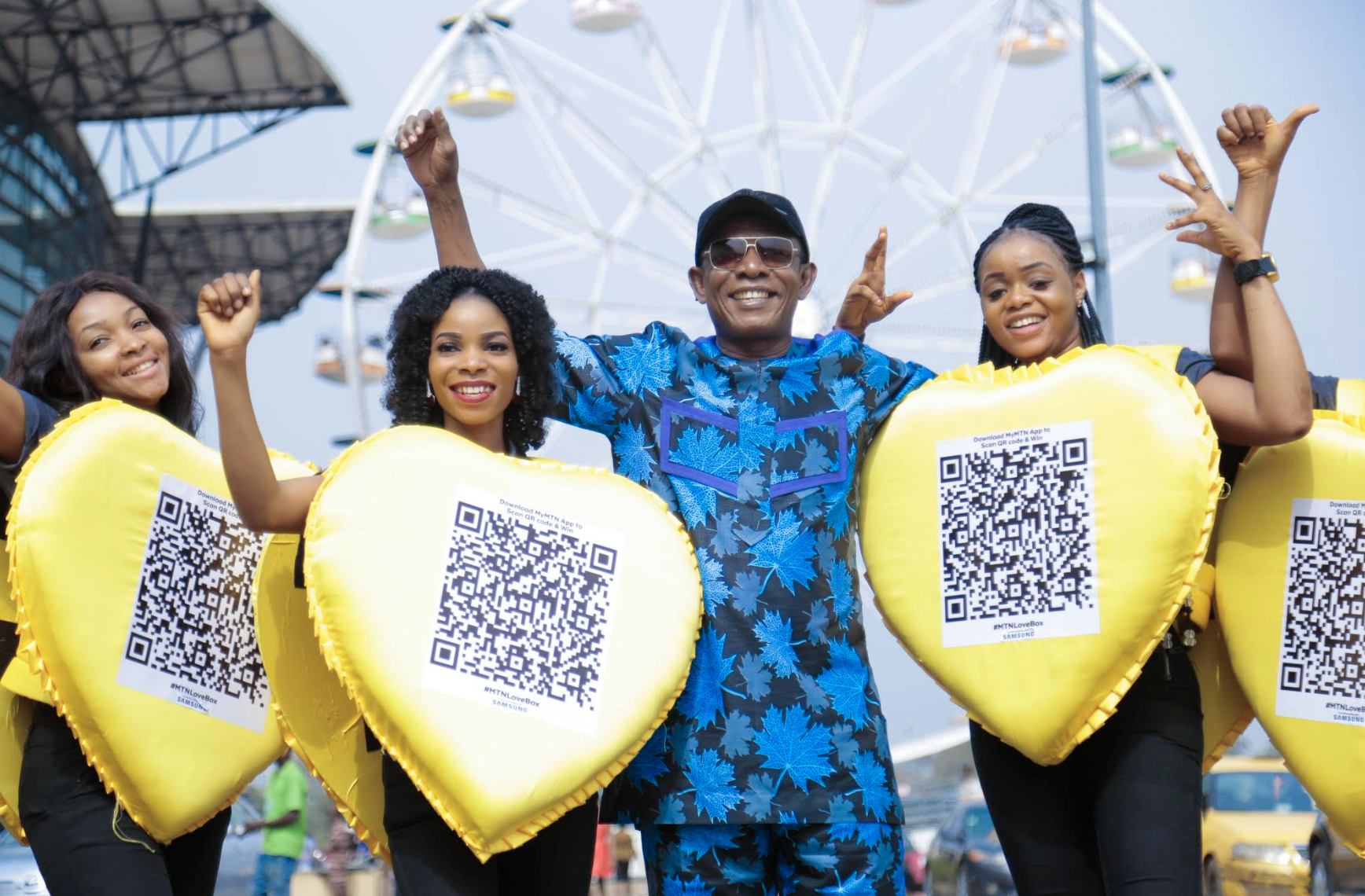 Nkem Owoh, MTN, Samsung, Celebrate Valentine's Day With a Twist At #MTNLoveBox