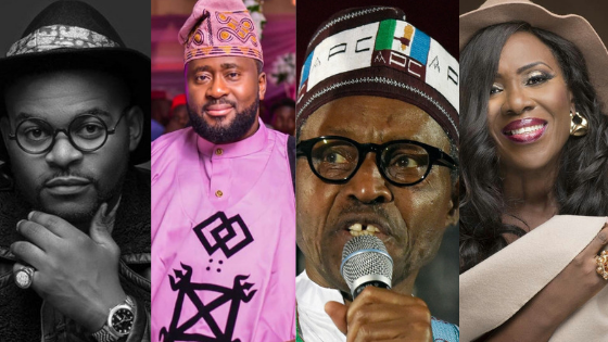 #NigeriaDecides: Here's How Celebrities Are Reacting To President Buhari's Win