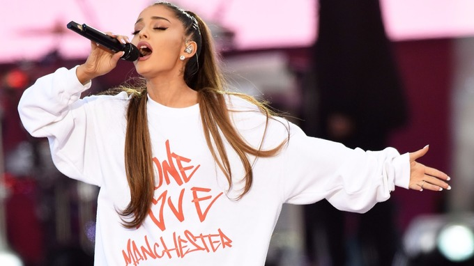 Ariana Grande Returns To Manchester For Concert, Two Years After Arena Bomb Attack