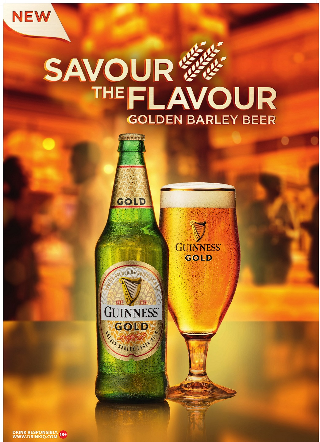 Guinness Gold, A Flavorful New Premium Lager From Guinness Launches In Nigeria