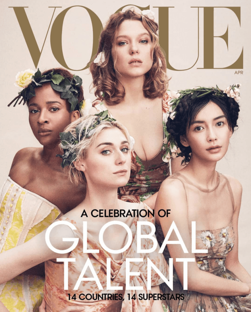 It's A W! Adesua Etomi Just Became The First Nigerian Ever To Grace The Cover Of Vogue USA