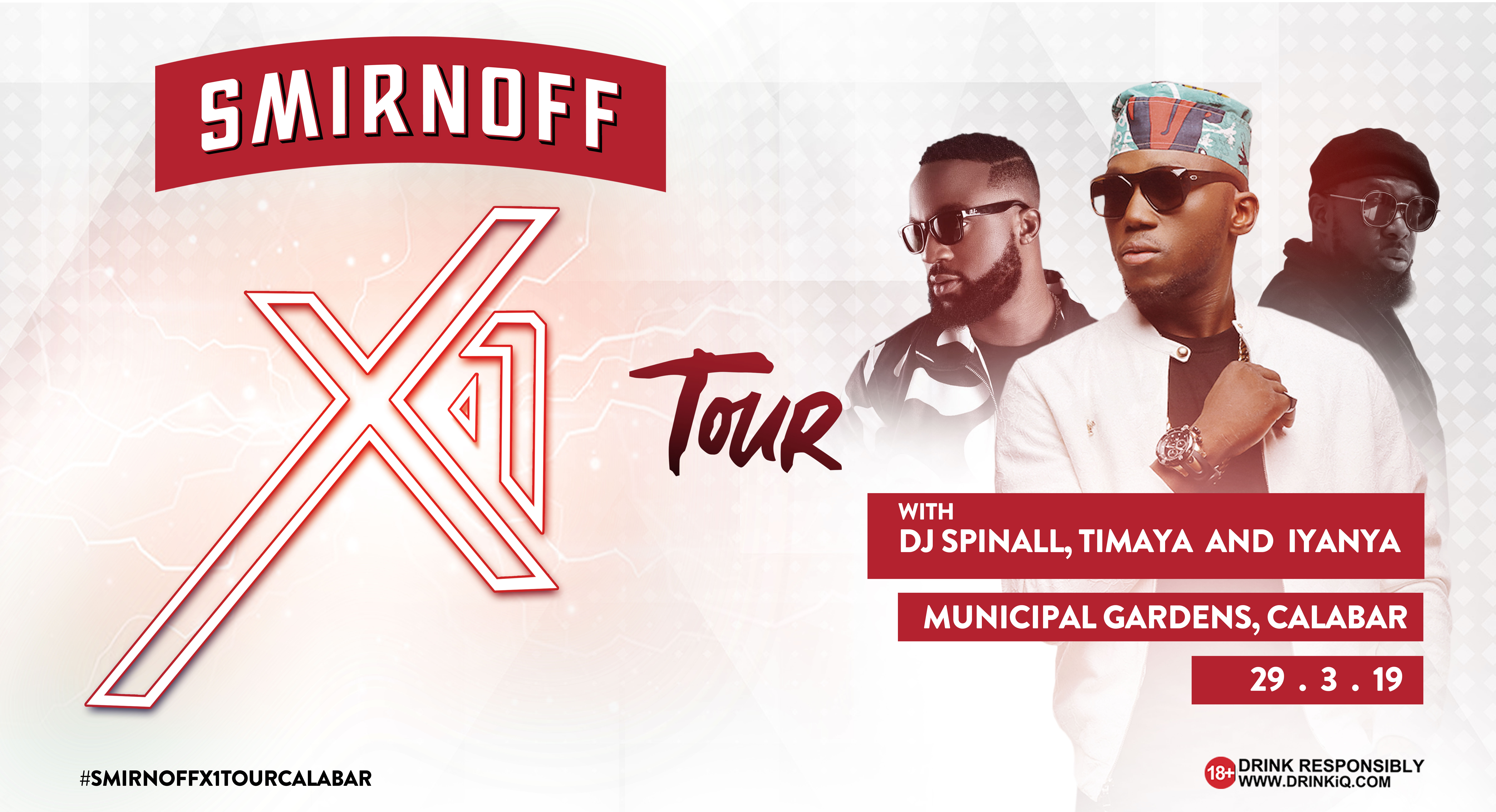 Smirnoff X1 Tour Lights Up Calabar With A Unique Experience