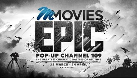 M-Net Movies Epic Battle Pop-Up Channel Coming in March