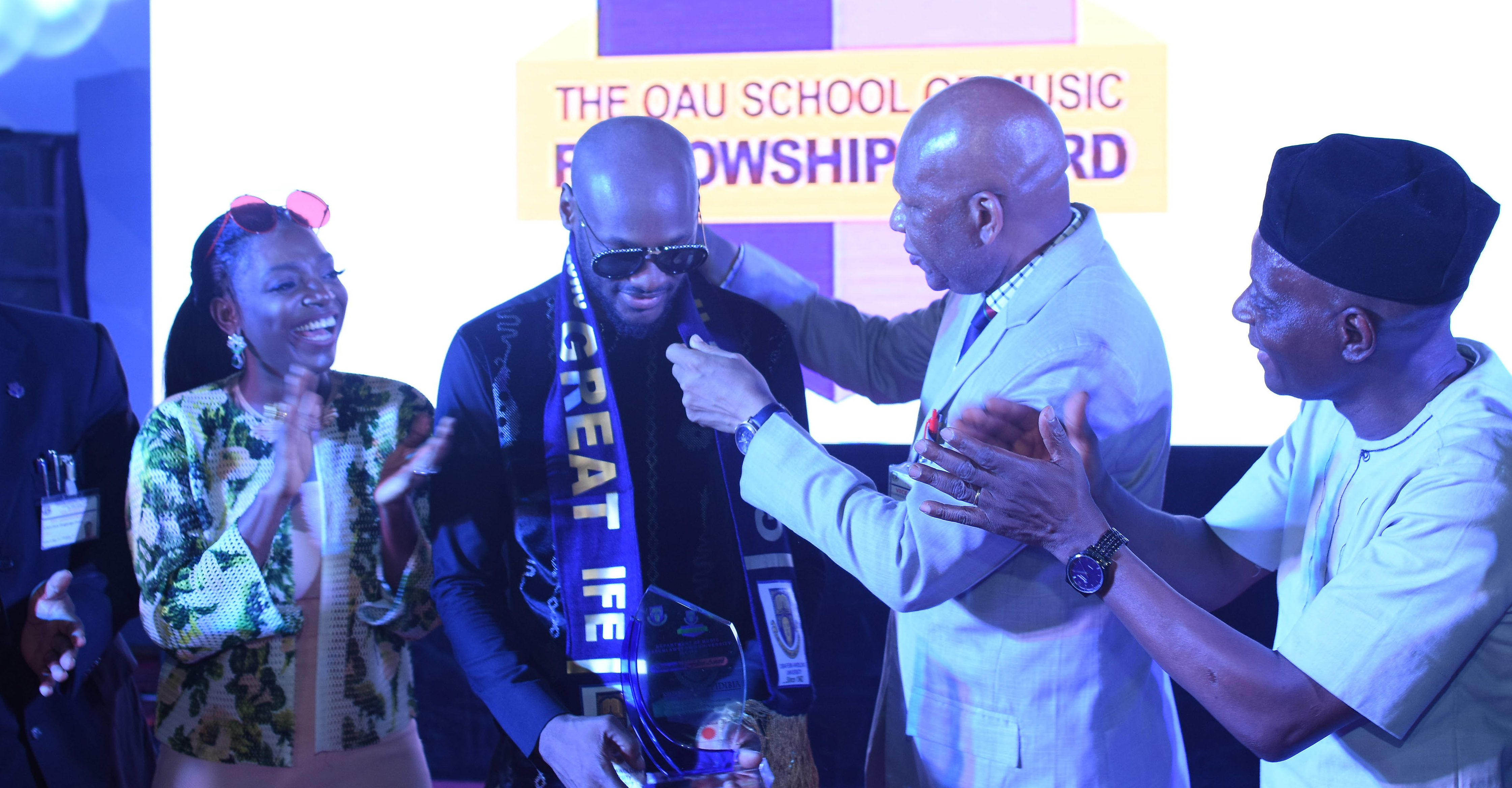 2Baba Receives Music Fellowship From Obafemi Awolowo University