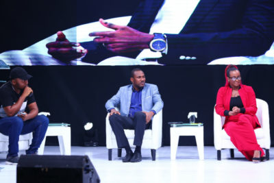 #NECLive7: Photos From Second Panel Featuring Bayo Adekambi, Femi Falodun, DJ Cuppy, Olumide Osundolire, Joey Akan