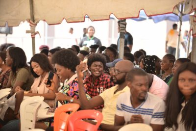 Who's The Next MTV Shuga Star? Thousands Turn Out To Audition In Lagos