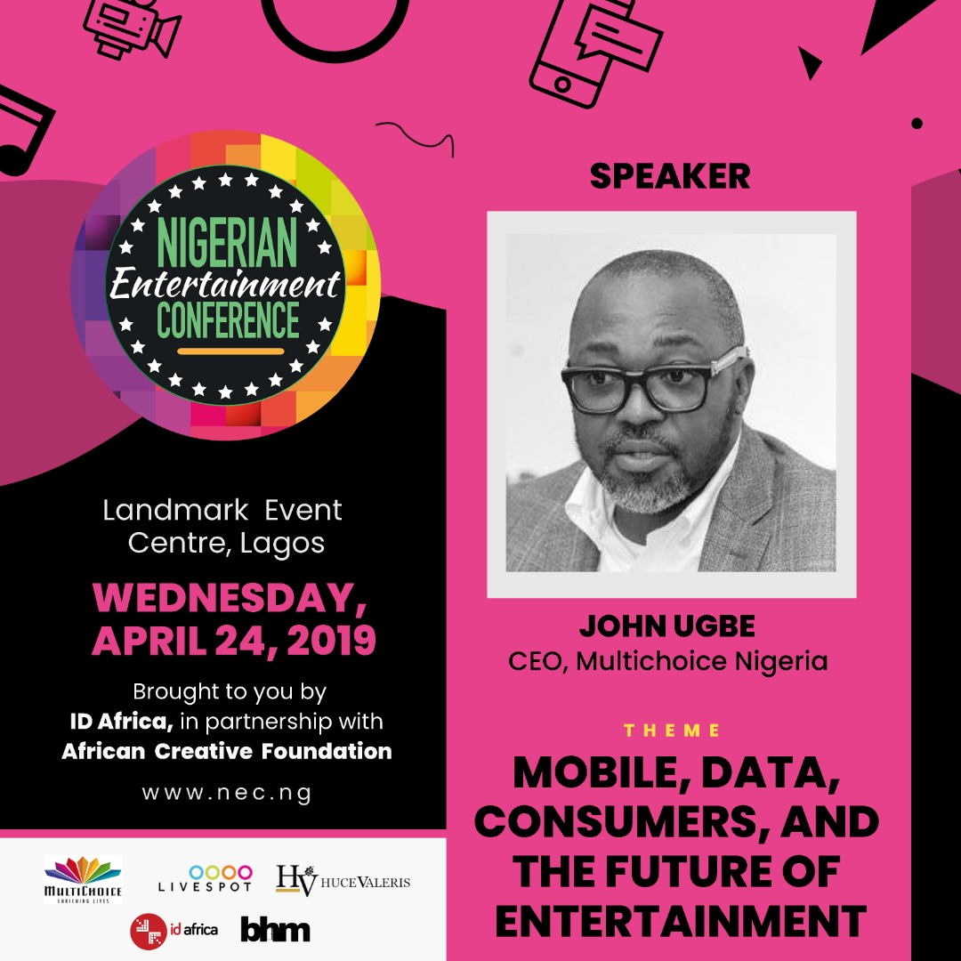 #NECLive7: Multichoice CEO John Ugbe To Discuss Big Brother Naija And More