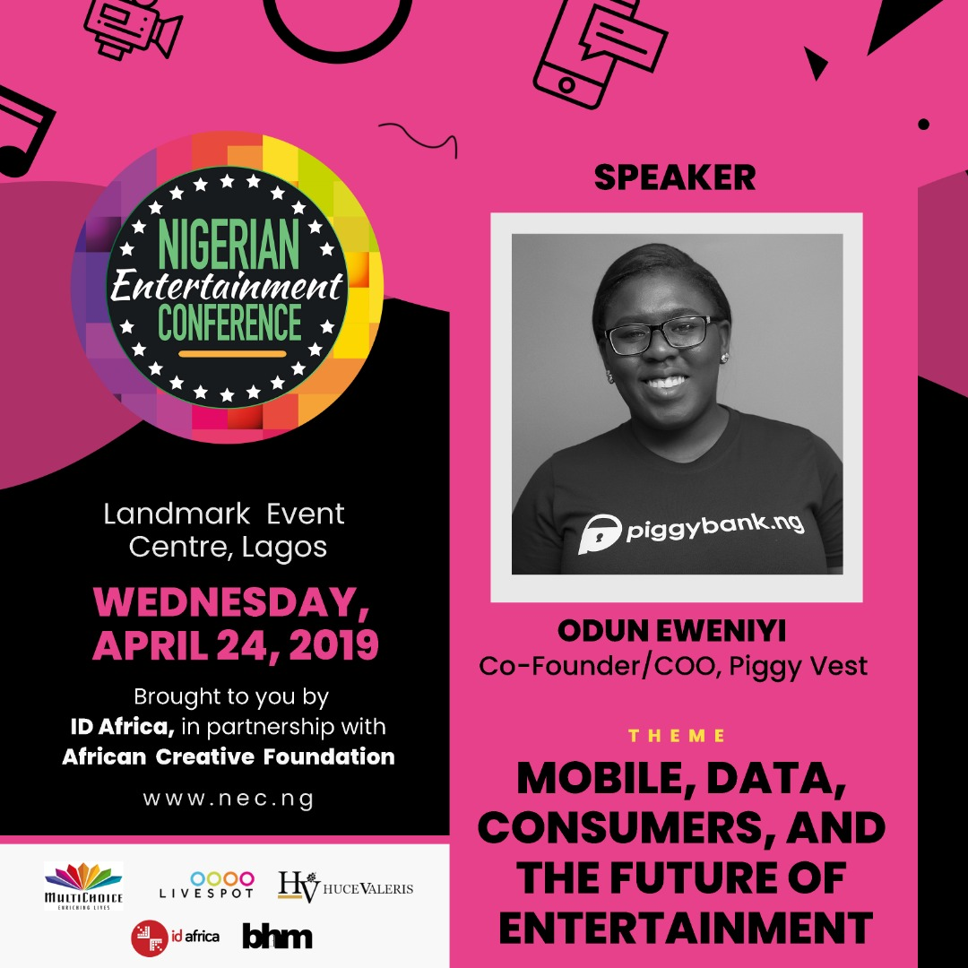 #NECLive7: Piggyvest's Odun Eweniyi To Join Panel On Payments