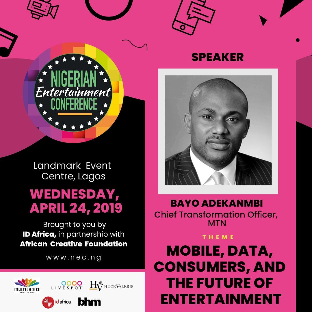 "#NECLive7: Bayo Adekambi To Speak On ""Understanding Data For The Purpose Of Economic Freedom"""