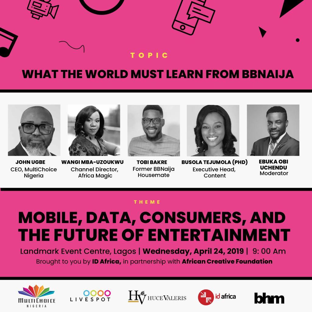 #NECLive 7: Tobi Bakre To Join BB Naija Panel