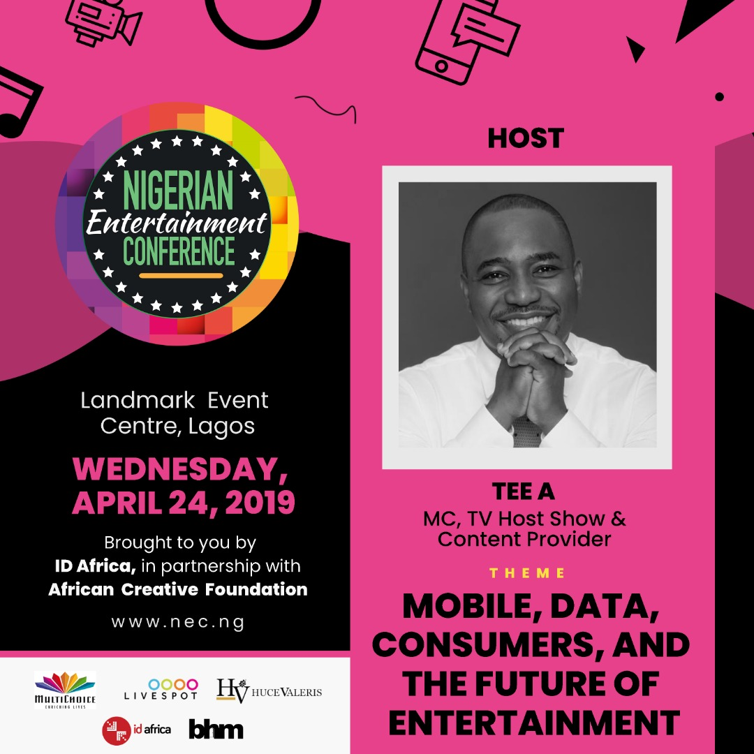 #NECLive7: Host Tee A To Hold Fireside Chat With Lamide Akintobi As They Discuss NECLive, ECOFEST And More