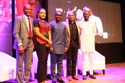 BHM Founder, Ayeni Adekunle Engages In A Panel Discussion at Eko Comedy Festival