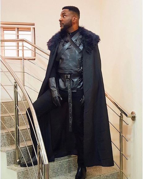 Again, Ebuka Attracts Praise For His 'Jon Snow' Outfit to IK's Birthday Party