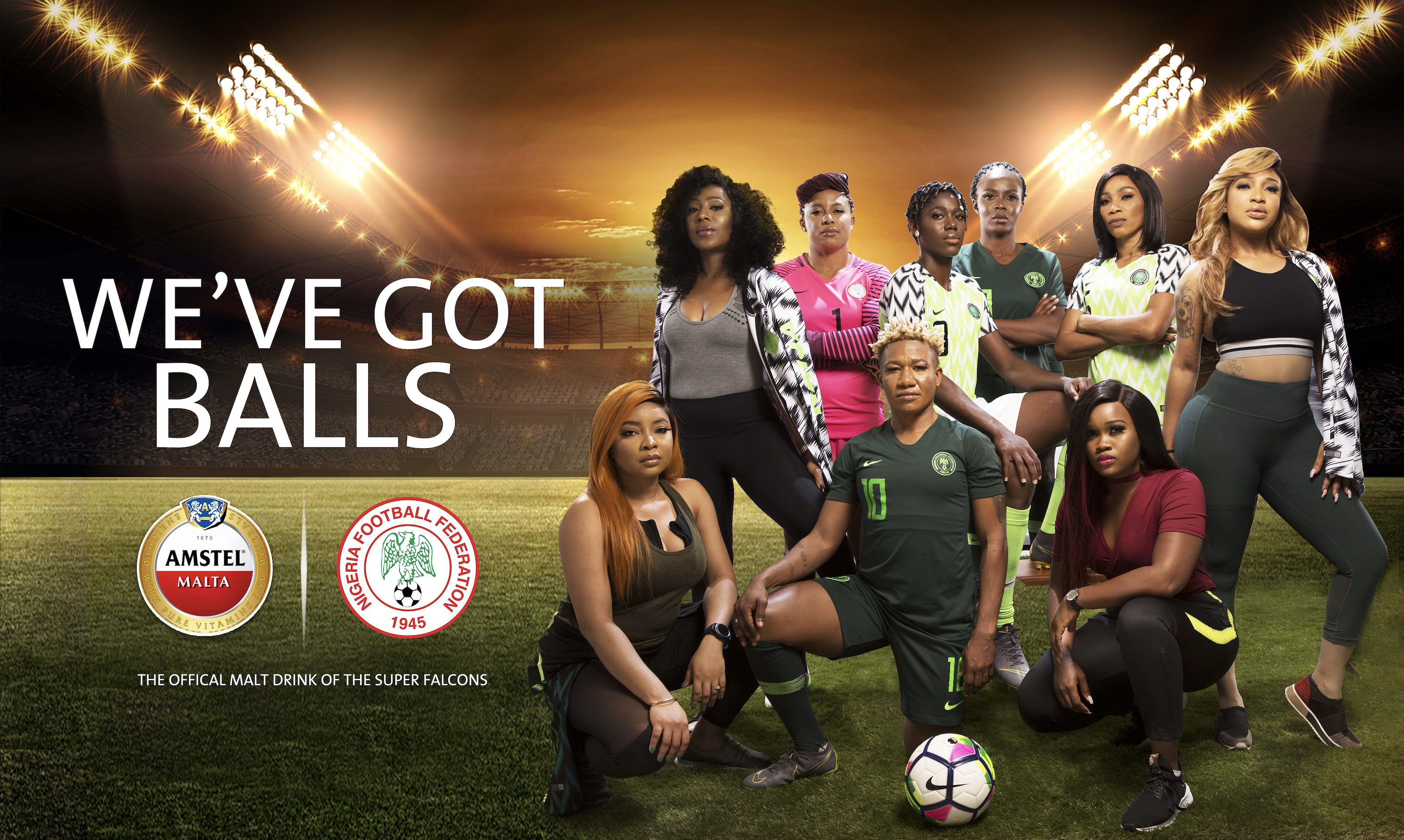 Tiwa Savage, Asisat Oshoala,Tonto Dike, CeeC, Kemi Adetiba, Yetunde Babaeko And Others Come Together To  Showcase The Power Of Women
