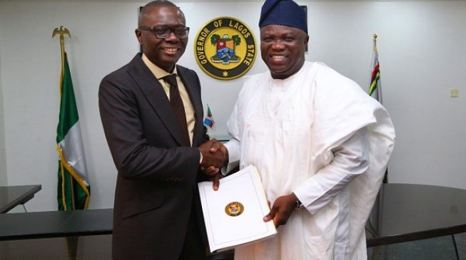 This Is Why Ambode Shunned Sanwo-Olu's Inauguration