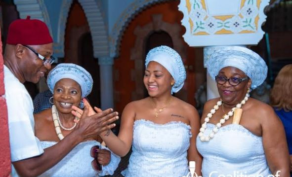 See Photos Of Regina Daniels' Initiation Into Married Women's Club In Delta