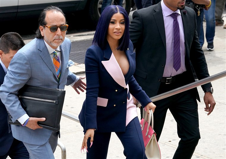 Cardi B Pleads Not Guilty To Felony Assault Charges