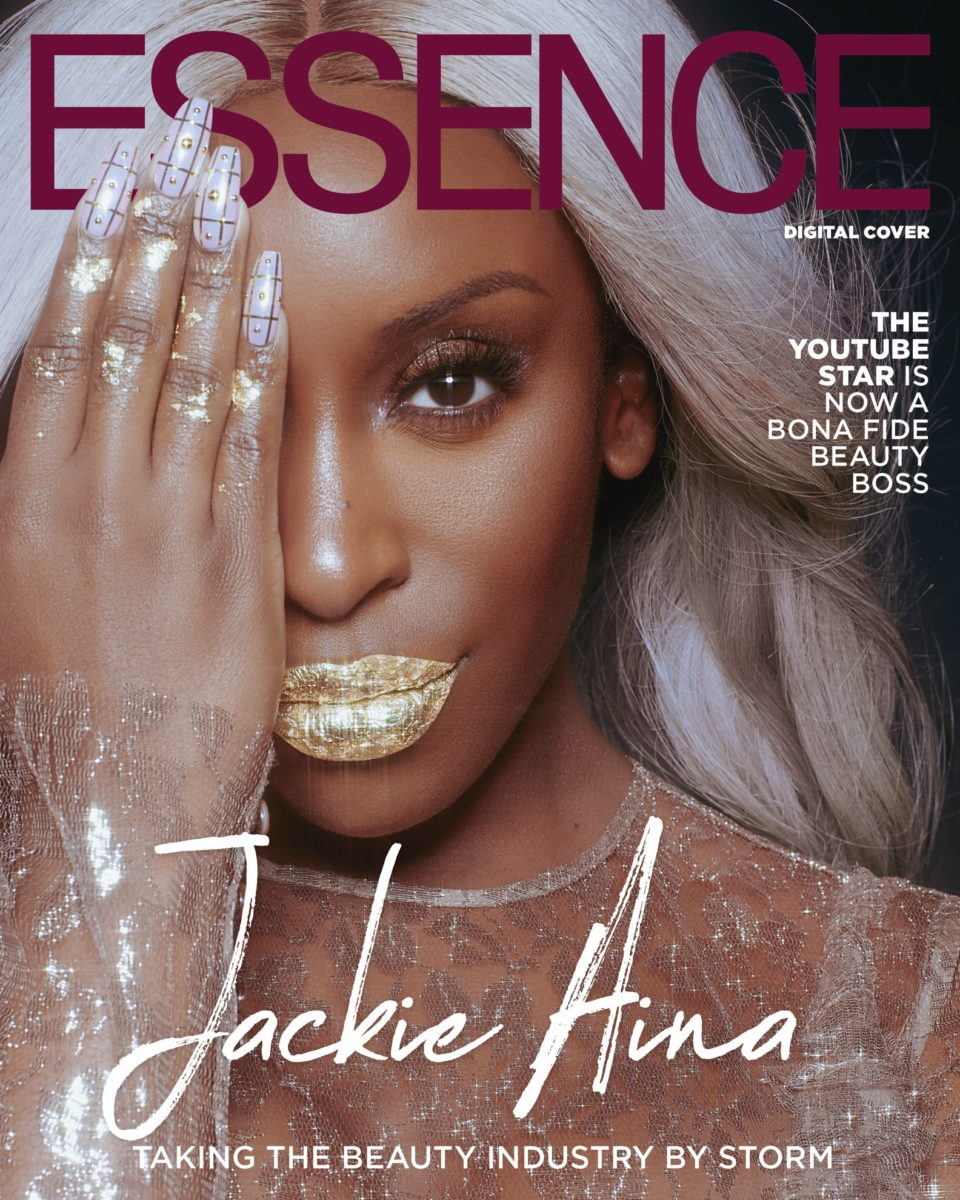 Nigerian-American Beauty Influencer, Jackie Aina Is On The Cover Of Essence Magazine