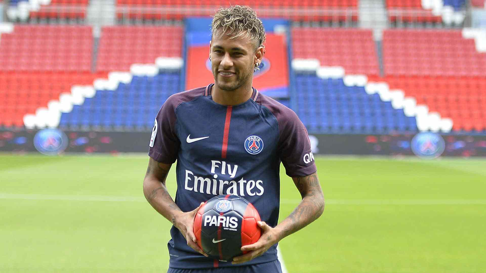 PSG To Determine Recovery Time For Neymar Jr's Ankle Injury