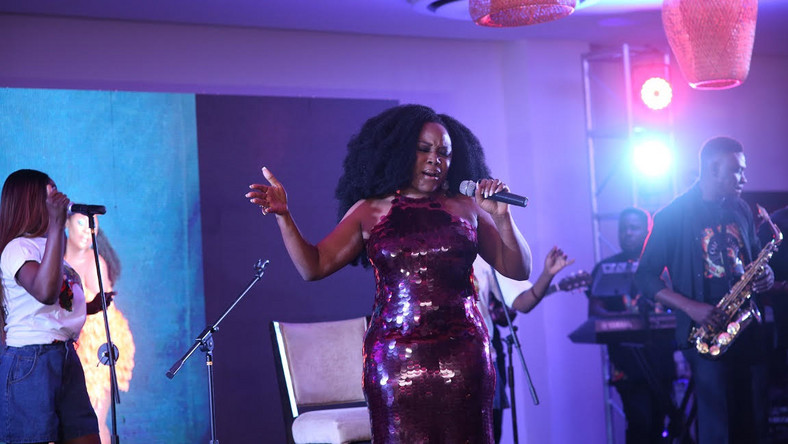 See All The Celebrities' Looks At Omawumi's Listening Party