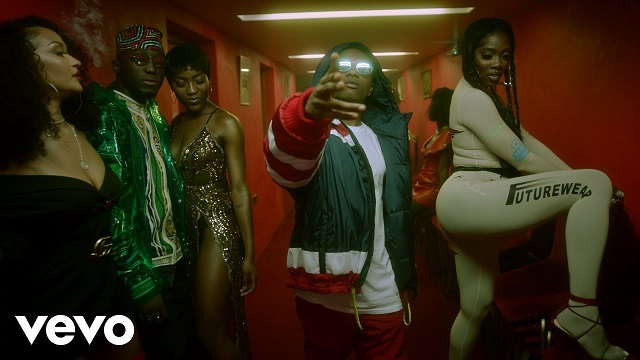 Tiwa Savage, Wizkid Are Sizzling Hot In 'Dis Love' By DJ Spinall