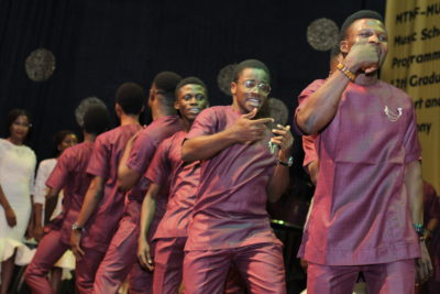 MTN Foundation Scholars Hosts Colourful MUSON Concert