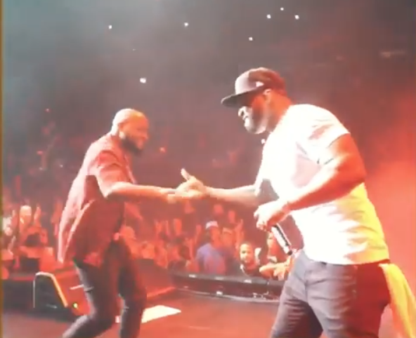 WATCH: Davido Performs With 50 Cent At Madison Square Garden
