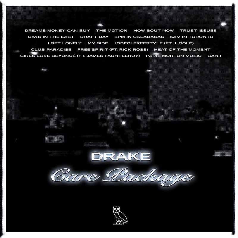 Drake Drops A New Compilation Album, 'Care Package'