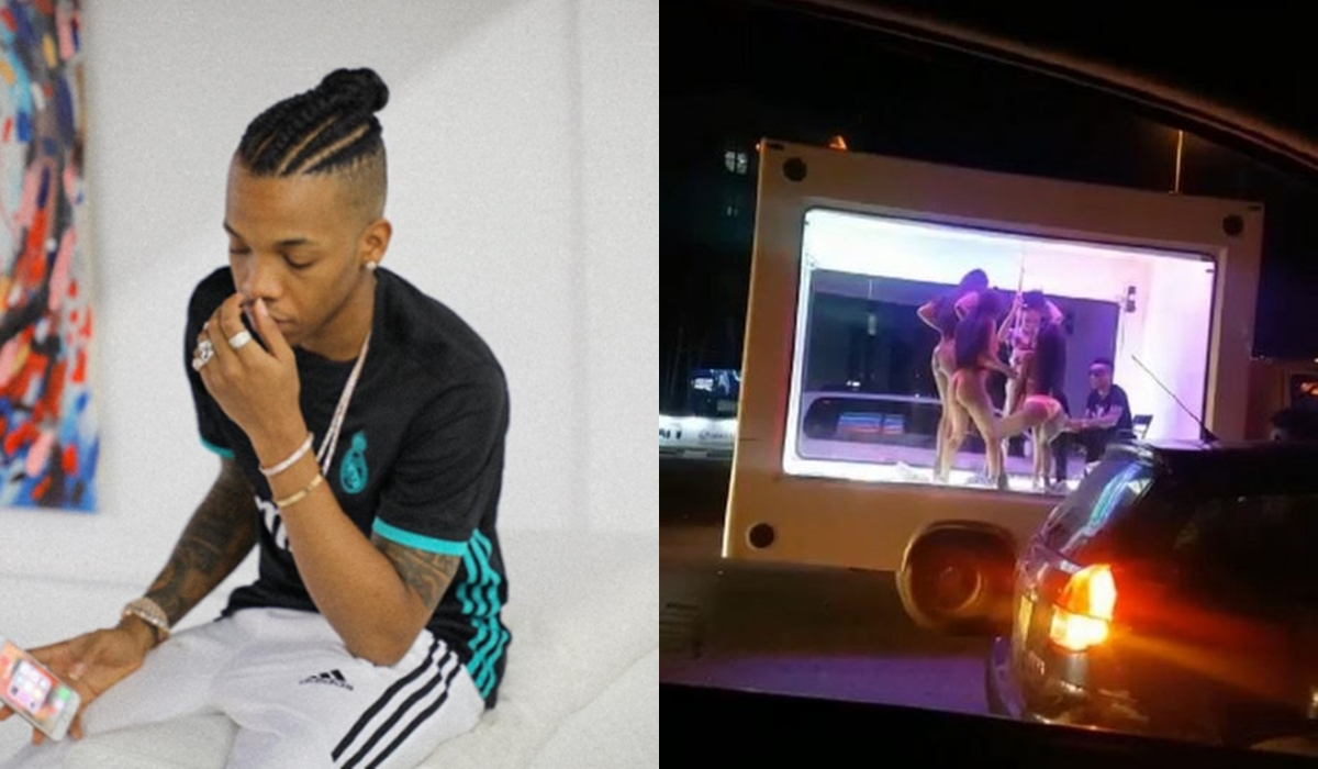 Tekno Arrested For Public Nudity And Indecency With Lekki Strippers