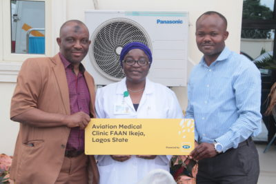 MTN Equips Aviation Medical Clinics Ikeja In its 'What Can We Do Together' Initiative
