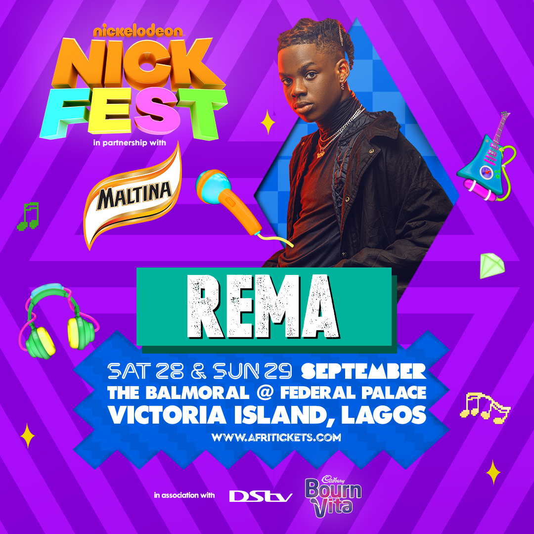 Teni, Fireboy And Rema Set To Take Centre Stage At Nickfest 2019