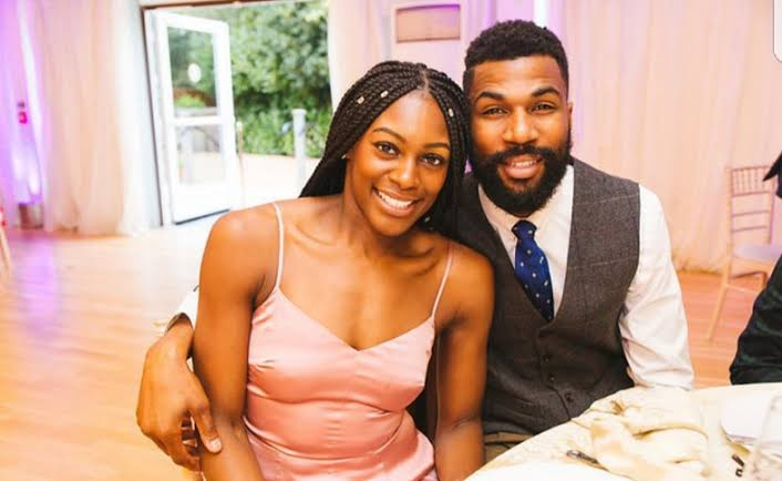 Mike's Wife Attends Big Brother Naija Grand Finale