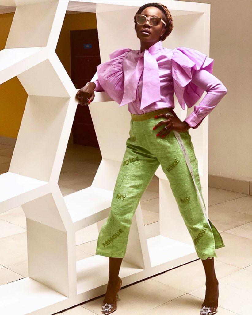 #AccessTheStars: Seyi Shay Stuns In Custom-Made Ejiro Amos Tafiri Two-Piece