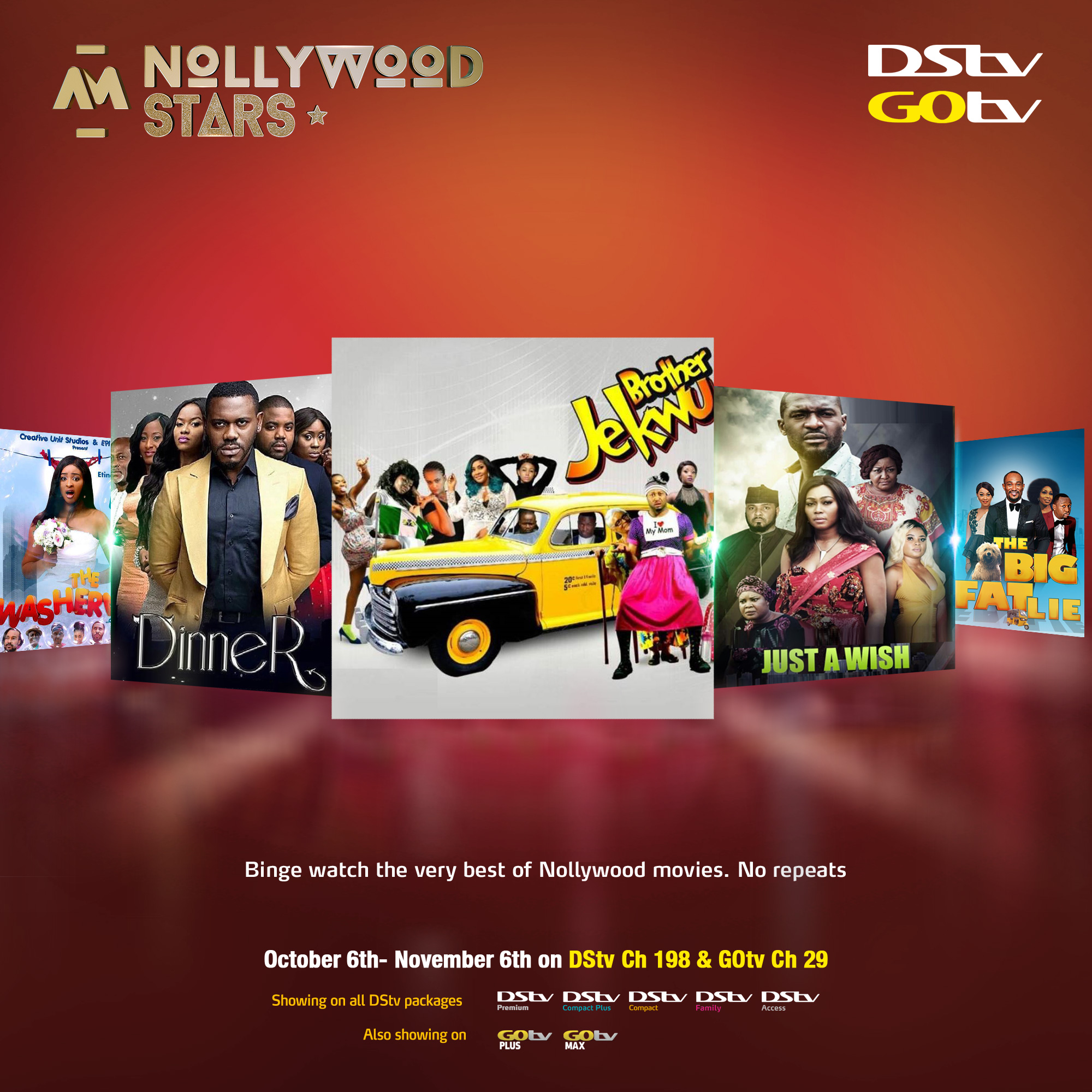 Here's Your Last Chance To Enjoy Africa Magic Nollywood Stars Pop-up Channel