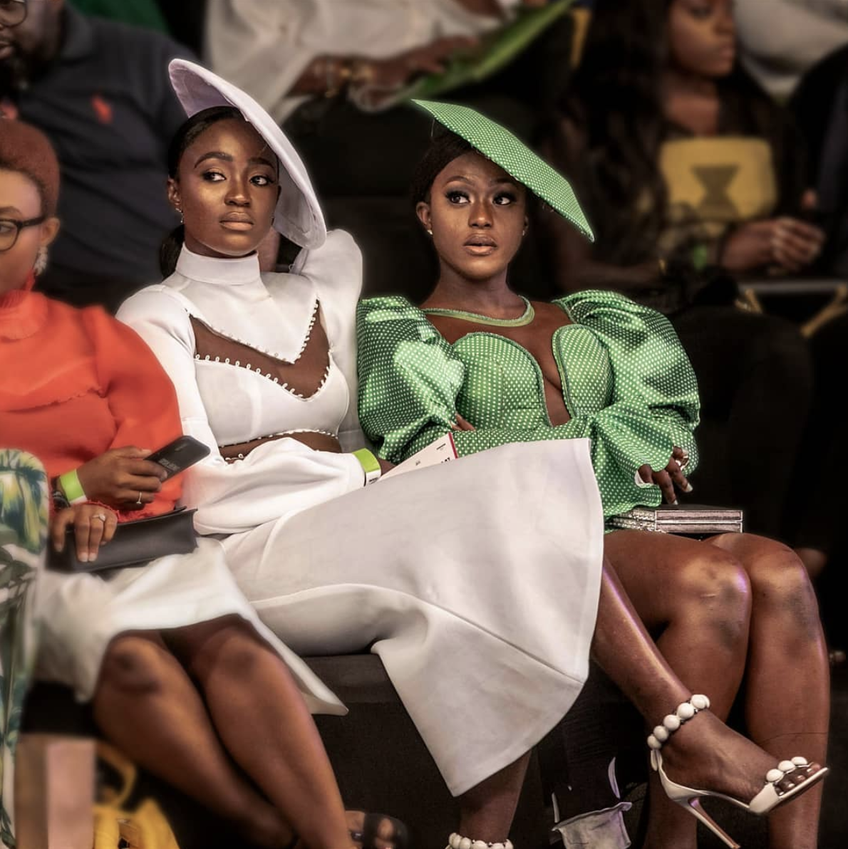 Denola Grey, Alex Unusual, Dazzle The Fayrouz X Green Access Runway Show At Lagos Fashion Week