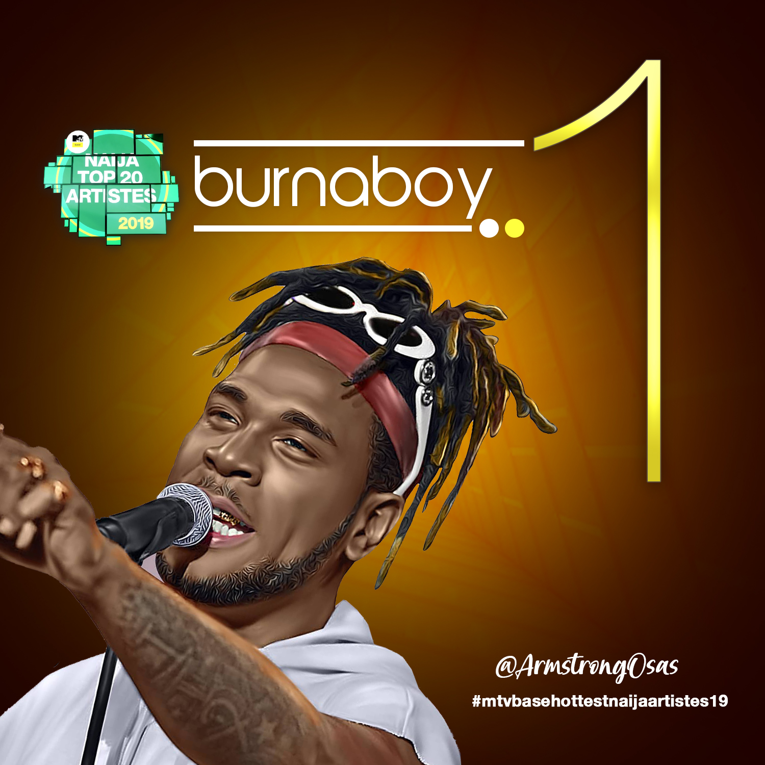 Burna Boy, Davido & Zlatan Top The MTV Base Hottest Nigerian Artistes Of 2019 List