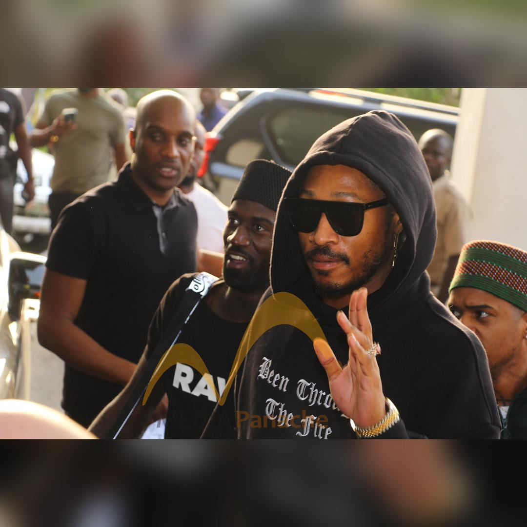 Photos: American Rapper Future Came To Nigeria With His Rumored Girlfriend, Lori Harvey