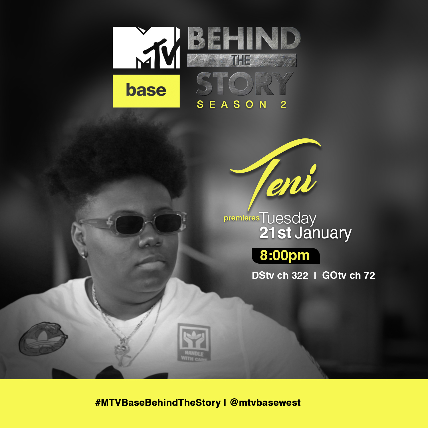 2Baba, Teni, Others To Feature In The Second Season Of MTV Base Behind The Story