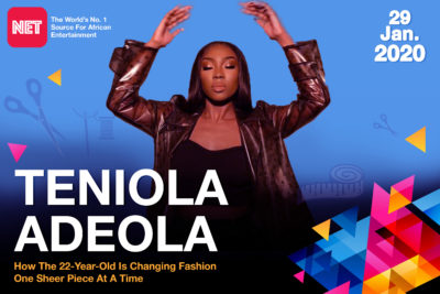 How 22-Year-Old Teniola Adeola Is Changing Fashion One Sheer Piece At A Time