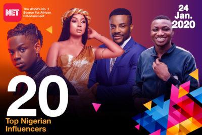 Top 20 Nigerian Influencers