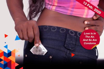 Why condom sales surge during Valentine's