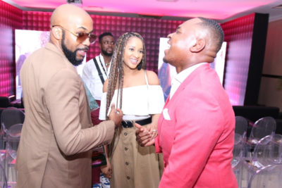 Banky W And Adesua Etomi Step Out In Lagos For Gbemi And Toolz