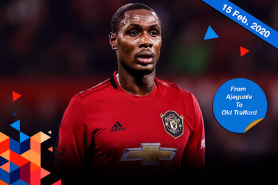 Odion Jude Ighalo, First Nigerian To Play For Manchester United