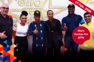 Nse Ikpe Etim Joins Chidinma And Saka For Surprise MTN Announcement
