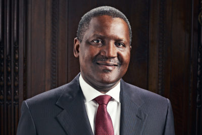 How Aliko Dangote Became Africa's Richest Man For The 9th Consecutive Time