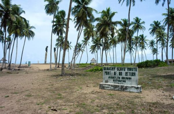 The point of no return Badagry slave trade